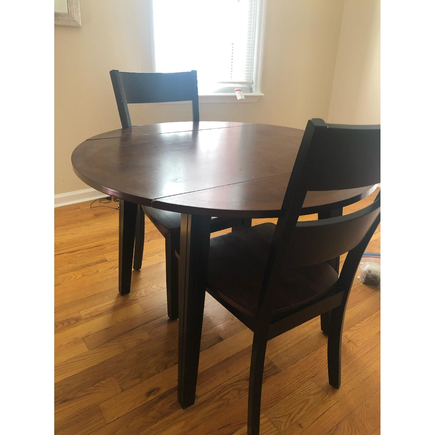 Bob's Blake 3 Piece Drop Leaf Dining Set-2