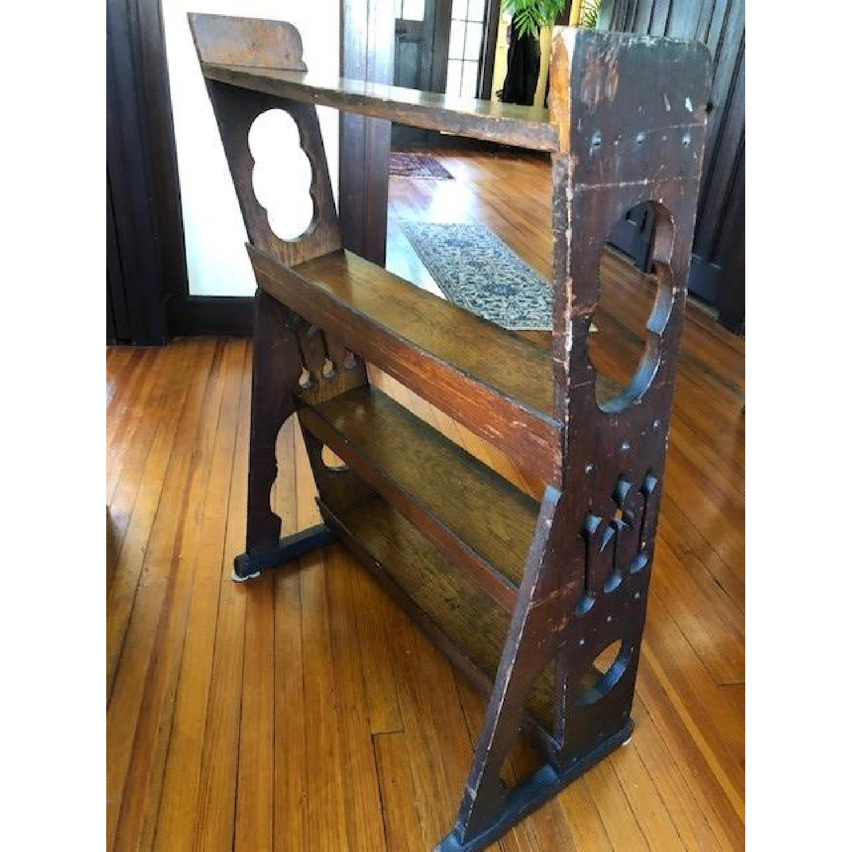 Antique Church Bookcase-5