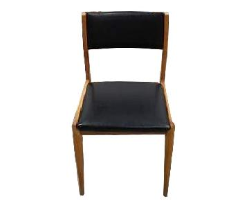 Mid-Century Modern Danish Design Style Dining Chairs