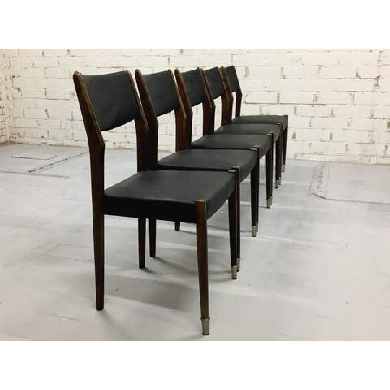 Mid Century Modern Danish Design Moller Style Dining Chairs