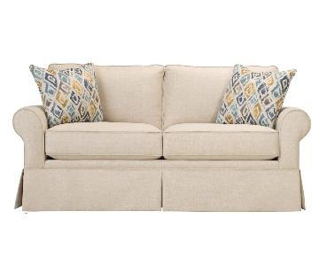 Raymour and Flanigan Lundie Full Sleeper Sofa