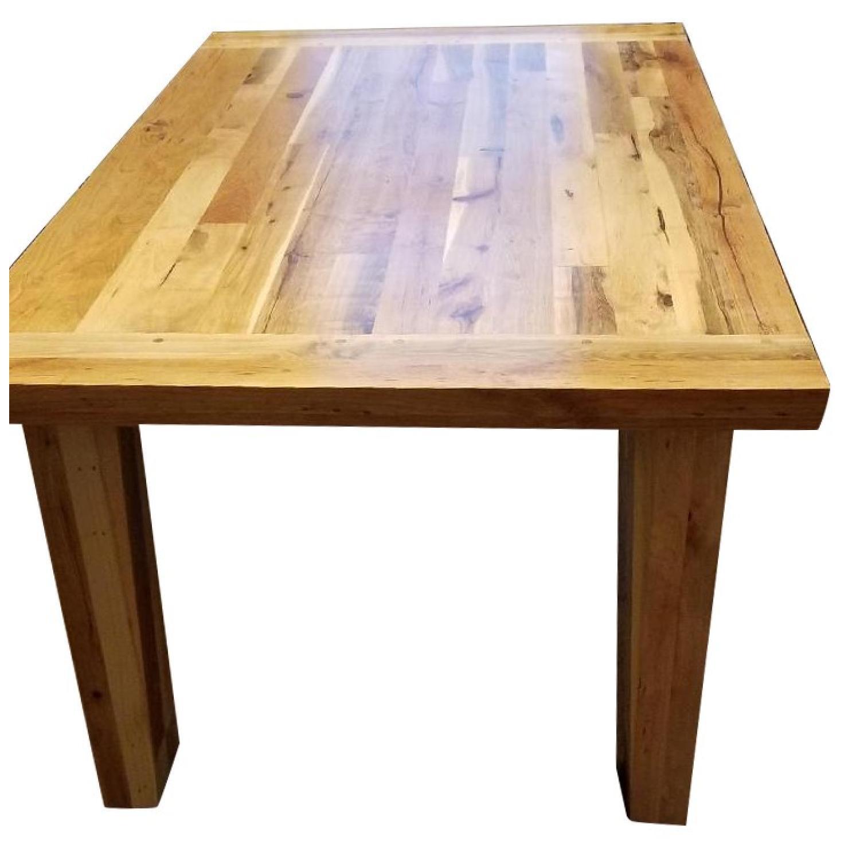 Breadboard Dining Room Table