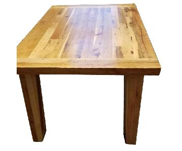 Breadboard Dining Room Table