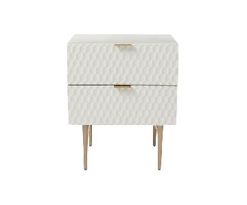 West Elm Audrey Nightstands