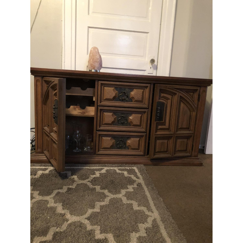 Bassett Furniture Industries Wood Sideboard-0