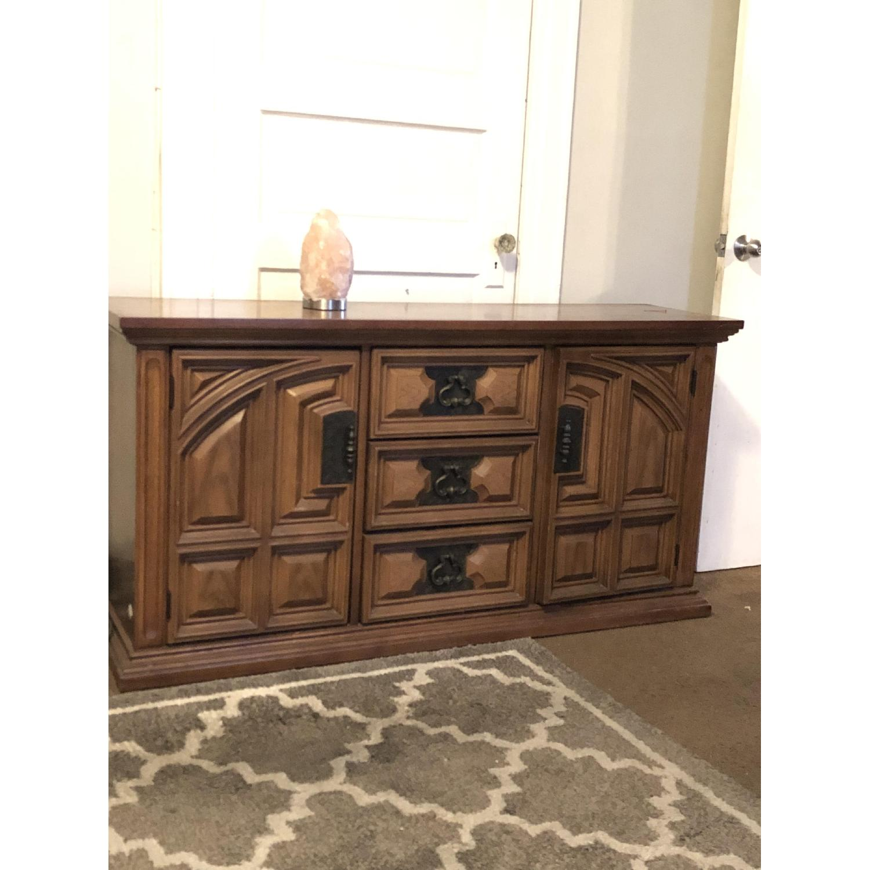 Bassett Furniture Industries Wood Sideboard-1