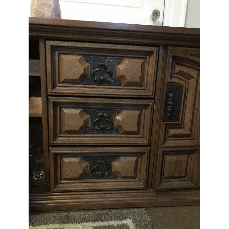 Bassett Furniture Industries Wood Sideboard-2