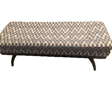 ABC Carpet and Home Upholstered Bench