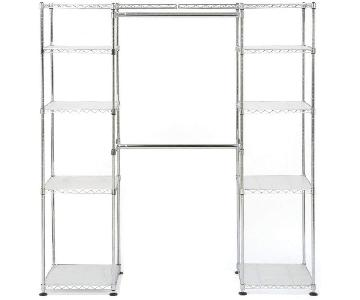 Seville Classics Free Standing Closet/Cloth Rack
