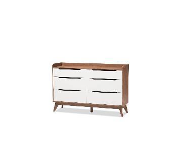 AllModern 6 Drawer Double Dresser