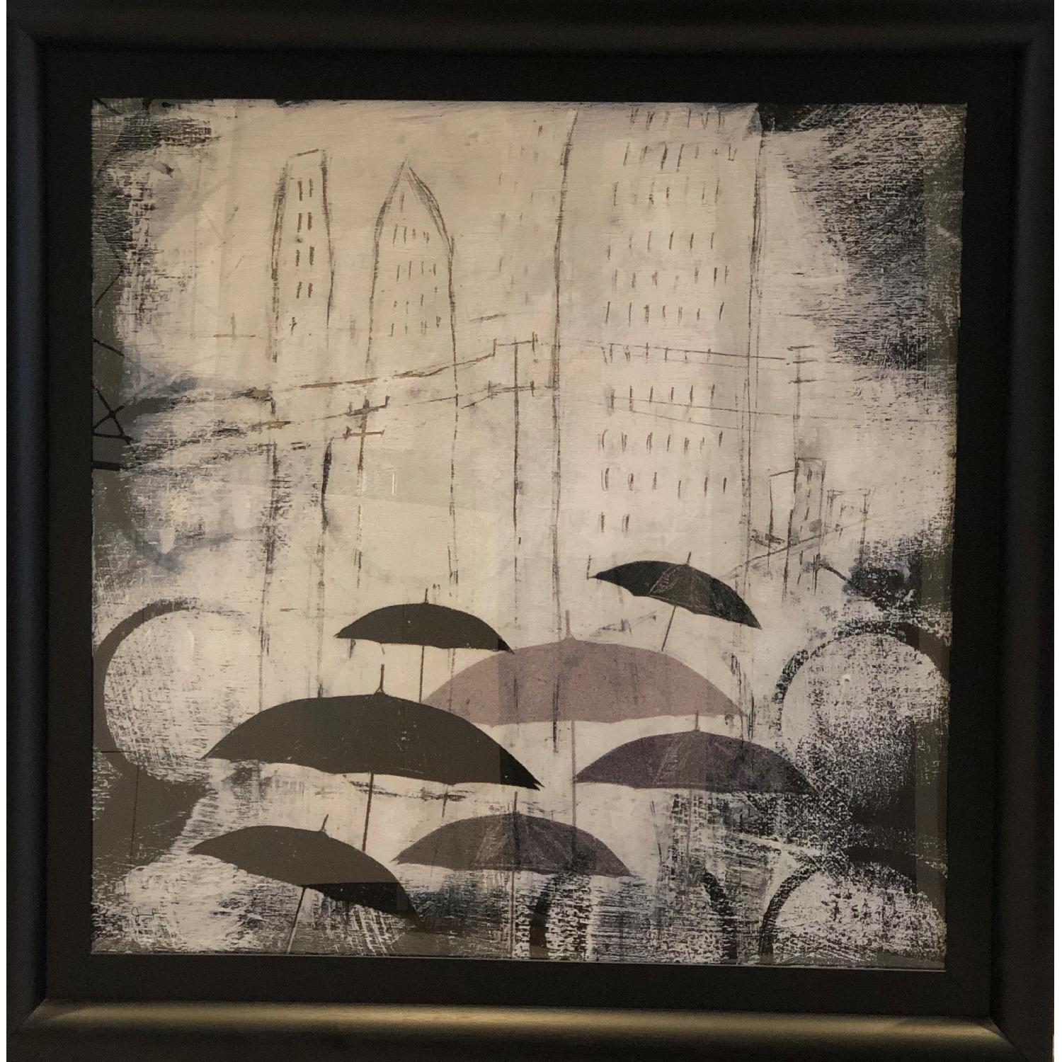 Crate & Barrel Parasols Art