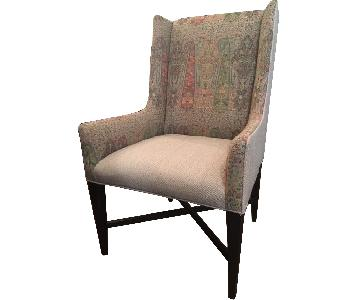 High Back Accent Chair