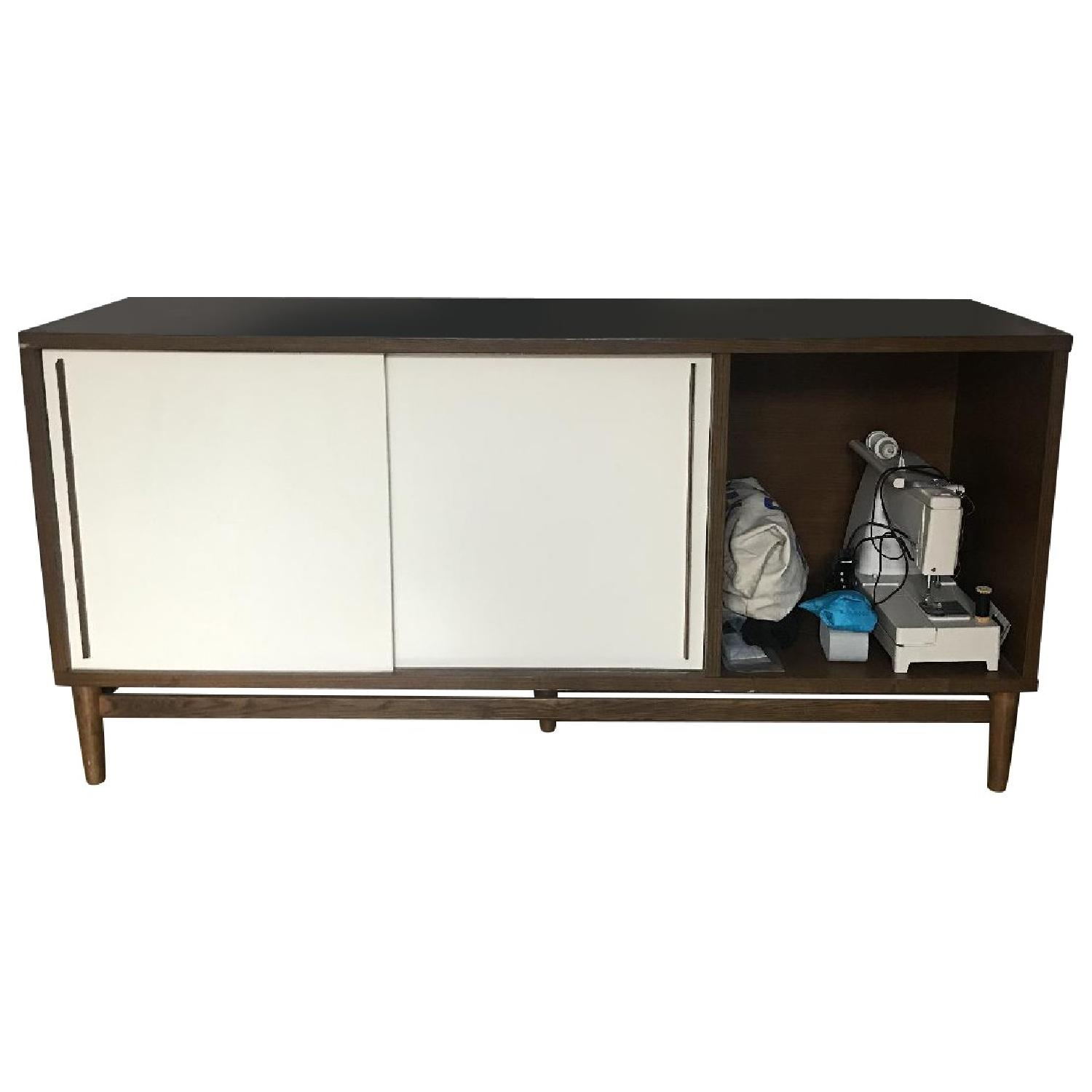 West Elm Mid Century Media Console