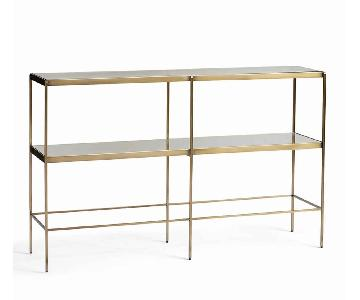 Pottery Barn Leona Console Table