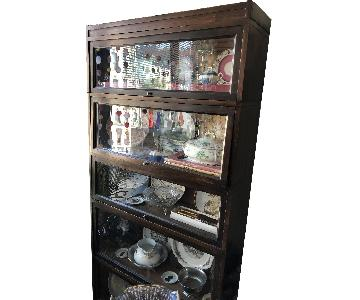 Macy's Antique 1900 Barristers Bookcase