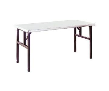 Design Within Reach Workscape Aluminum Folding Dining Table