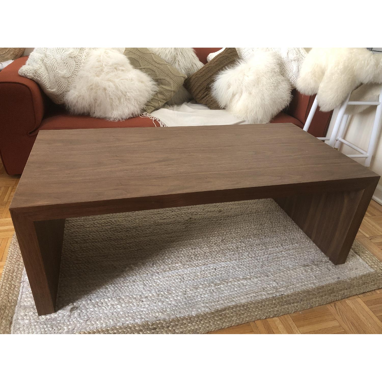 Abbyson Living Fairfield Walnut Coffee Table-0