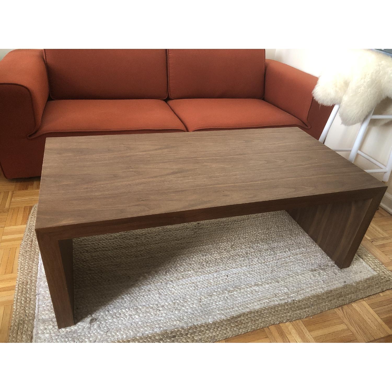 Abbyson Living Fairfield Walnut Coffee Table-1