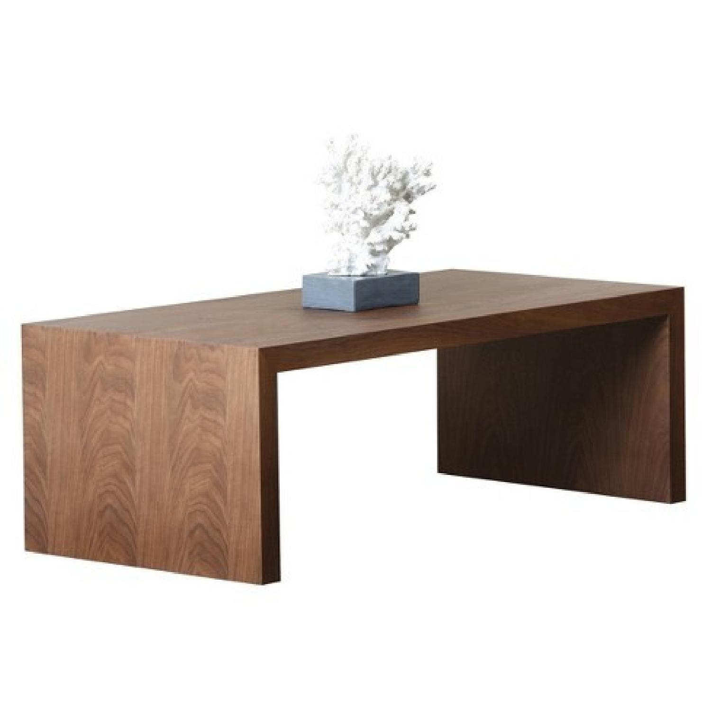 Abbyson Living Fairfield Walnut Coffee Table