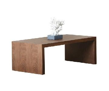 Abbyson Living Fairfield Walnut Coffee Table