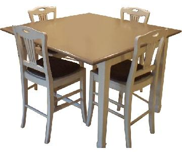 Crate & Barrel Kitchen Table w/ 4 Matching Chairs