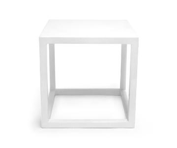 Jonathan Adler Lacquer Cube Side Table