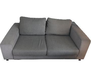 BoConcept Grey 2-Seater Sofa