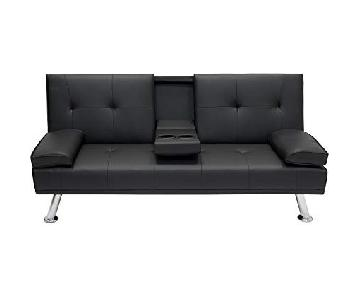 Best Choice Products Modern Futon w/ Console