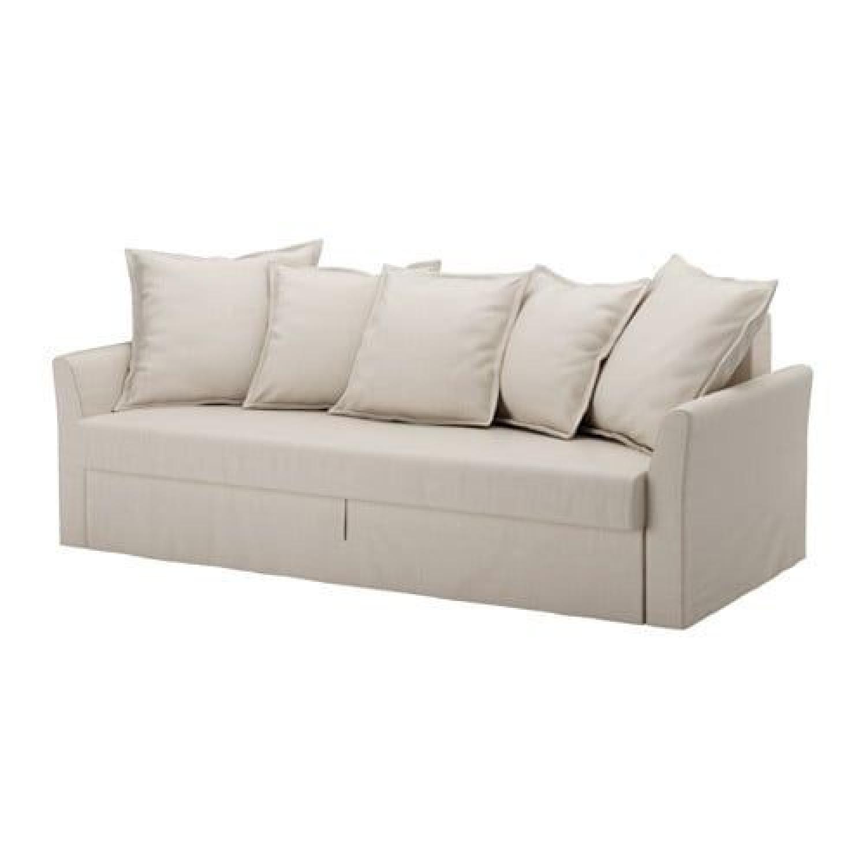 Ikea Beige Sleeper Sofa