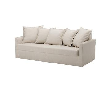 Ikea Beige Sleeper Sofa