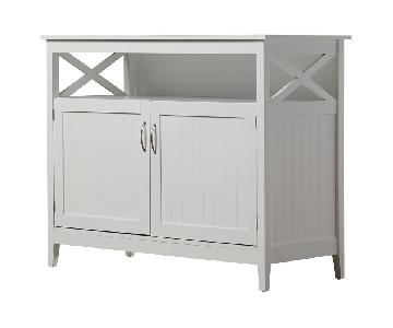 Beachcrest Home White Buffet