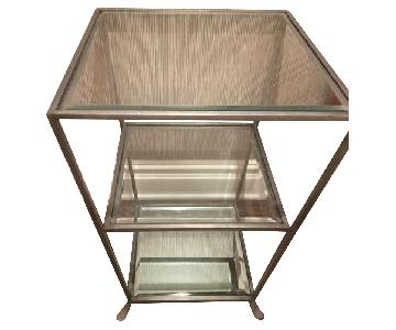 Glass & Metal End Tables