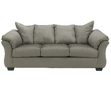 Grey 3-Seater Sofa
