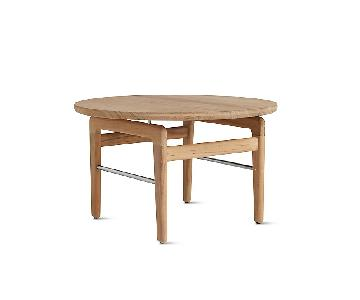 Design Within Reach Finn Outdoor Teak Side Tables