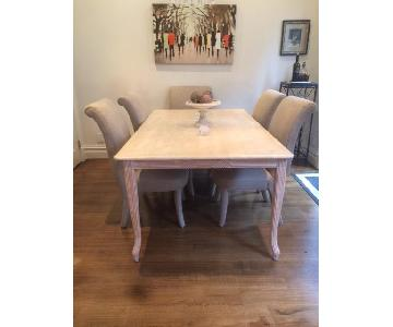 Lexington Furniture Travertine Marble Dining Table