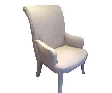 Lexington Furniture Linen Rollback Parsons Chairs