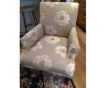 Pier 1 Floral Chair