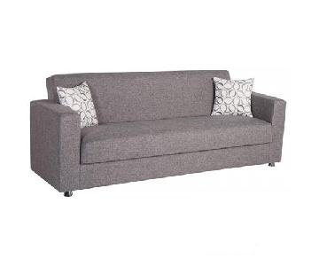 Istikbal Grey Sleeper Sofa