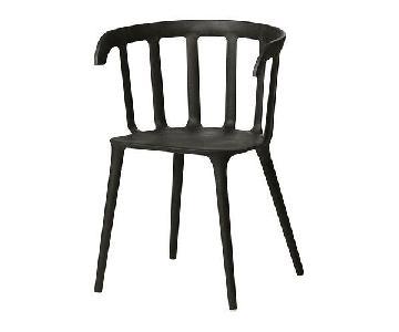 Ikea PS 2012 Wood Plastic Chairs