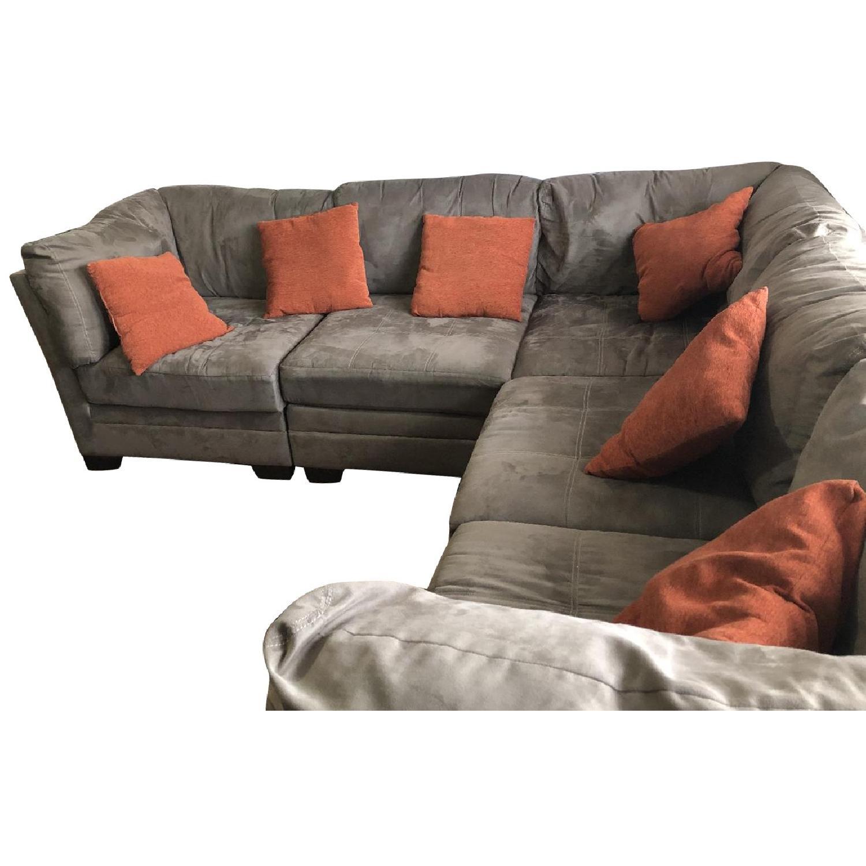 Raymour & Flanigan 6-Piece Modular Sectional Sofa