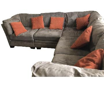Raymour & Flanigan 6-Piece Modular Sectional Sofa