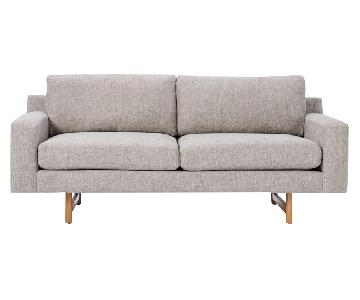 West Elm Eddy Sofa in Feather Grey