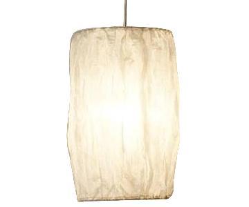 Fabric Pendant Kouchi Lamp