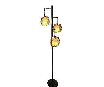 Modern Wrought Iron Floor Lamp