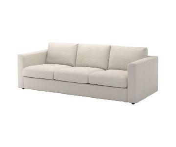Ikea VImle Sofa & Ottoman