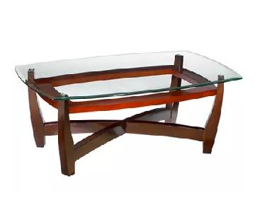 Macy's Elation Rectangular Contemporary Coffee Table