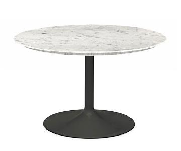 Room & Board Aria Marble Top Round Table
