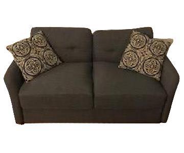 Zinus Contemporary Upholstered Loveseat