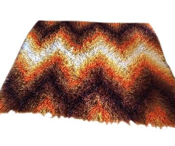 Handmade Abstract Kilim Rug