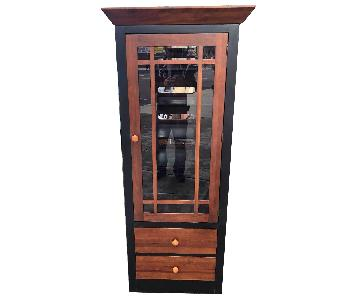 Ethan Allen Solid Wood Cabinet